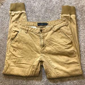 Well Versed Men's Khaki Jogger Pant, 32
